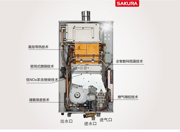 错误代码是e7 不知道什么原 樱花燃气热水器错误代码数码恒温图片