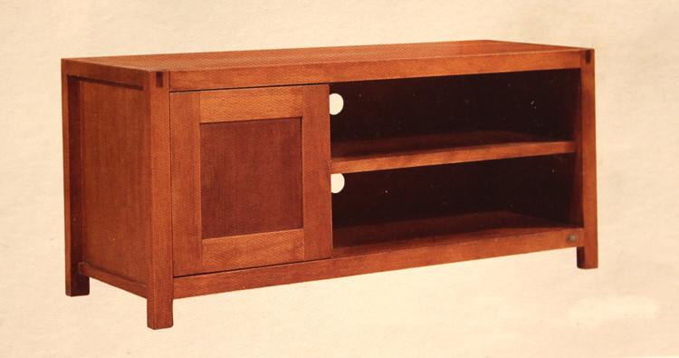 現貨紅胡桃木電視柜 客廳家具